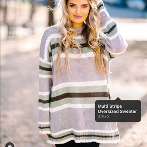 NWT These Three Boutique Sweater